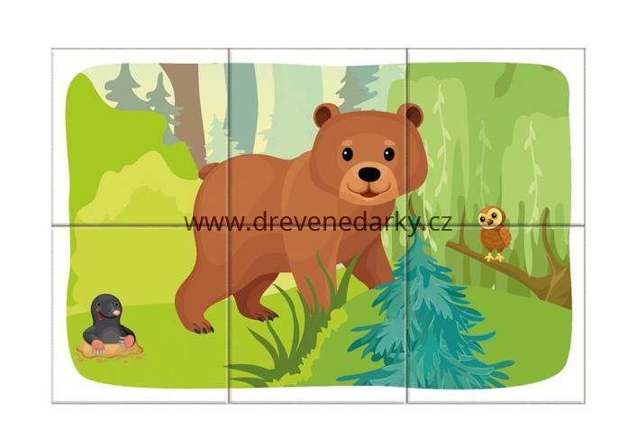 drevene-kostky-lesni-zvirata